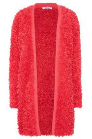 MAX MARA Nuvole frayed open-knit jacket