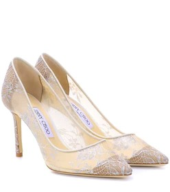 Jimmy Choo Romy 85 lace pumps