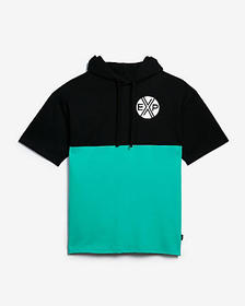Express heavyweight EXP hooded graphic tee