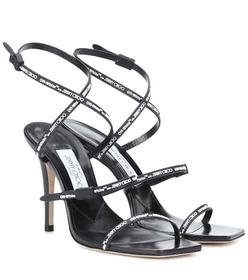 Jimmy Choo x Off-White Jane leather sandals