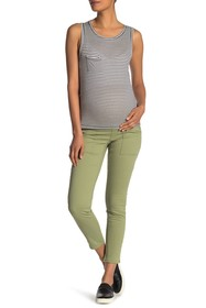 Seven7 Over The Belly Skinny Pants (Maternity)