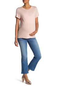 Seven7 Over The Belly Flared Jeans (Maternity)