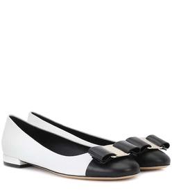 Salvatore Ferragamo Varina leather ballerinas