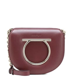 Salvatore Ferragamo Vela Medium leather shoulder b