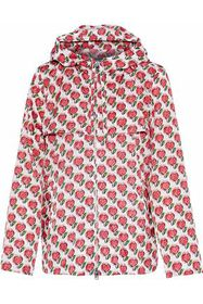PRADA Printed shell hooded jacket