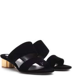 Salvatore Ferragamo Velvet sandals
