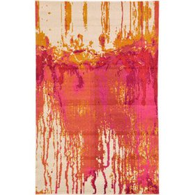 Andrei Pink Area Rug