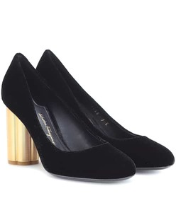 Salvatore Ferragamo Velvet pumps