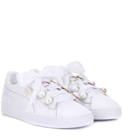 Puma Basket Bling leather sneakers