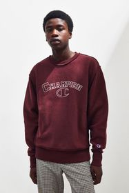 Champion UO Exclusive Embroidered Inside Out Crew-