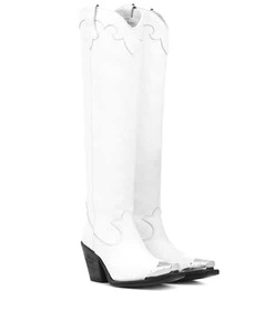 McQ Alexander McQueen Tammy leather cowboy boots