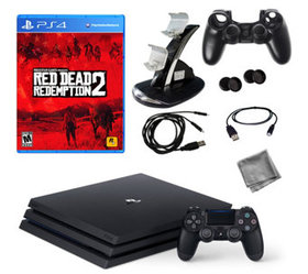 PS4 Pro 1TB Console with Red Dead Redemption 2 & A