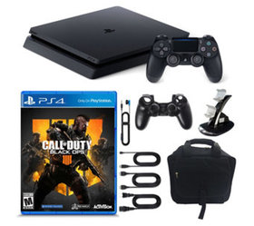 PS4 1TB Slim with Call of Duty: Black Ops 4& Acces