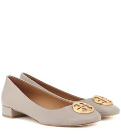 Tory Burch Chelsea Heeled leather ballet flats