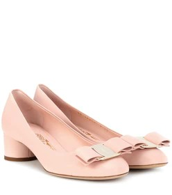 Salvatore Ferragamo Vara Bow leather pumps