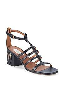 Valentino Garavani Embellished Leather Sandals BLA