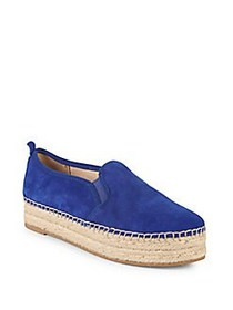 Sam Edelman Carrin Suede Espadrilles ROYAL BLUE