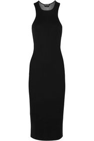 TOM FORD Cashmere and silk-blend dress