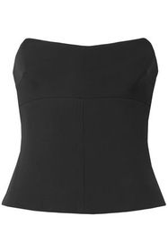 TOM FORD Stretch-crepe bustier top