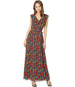Juicy Couture Blocked Floral Maxi Dress