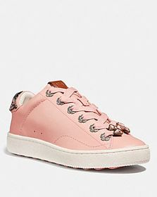 Coach c101 with tea rose eyelets and bow