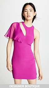 Cushnie Mini Dress with Cutout