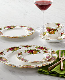 Royal Albert Old Country Roses Dinnerware Collecti