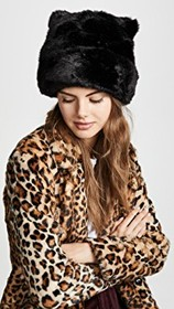 Kate Spade New York Faux Fur Hat with Ears