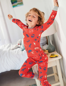 Boden Glow-in-the-dark Long Pajamas