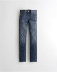 Hollister Classic Stretch Low-Rise Skinny Jeans, M