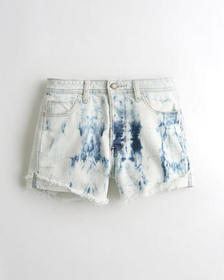 Hollister Stretch High-Rise Denim Boyfriend Shorts