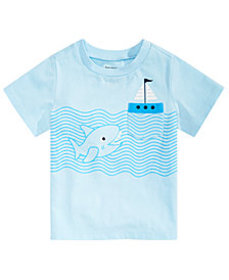 First Impressions Toddler Boys Shark-Print T-Shirt