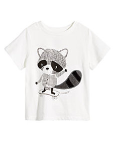 First Impressions Toddler Boys Raccoon-Print Cotto