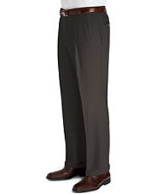 Jos Bank Executive Collection Regal Fit Pleated Fr