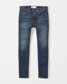super skinny jeans, DARK MEDIUM WASH