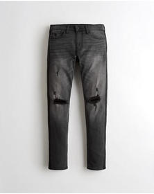 Hollister Advanced Stretch Skinny Jeans, RIPPED WA