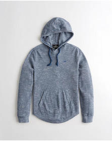 Hollister Hooded Sweater, HEATHER NAVY