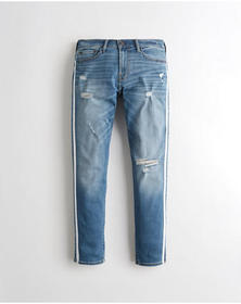 Hollister Advanced Stretch Skinny Jeans, RIPPED ME