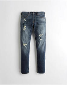 Hollister Advanced Stretch Skinny Jeans, RIPPED DA