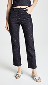 Miaou Junior Embroidered Jeans