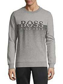 BOSS Ombre Terry Sweater GREY