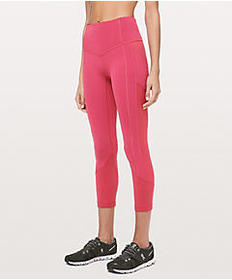 """Lulu Lemon All The Right Places Crop II 23"""""""