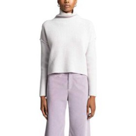 A.L.C. Vassar Funnel Neck Wool Crop Sweater (Women