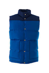 Lands End Men's 600 Down Colorblocked Vest