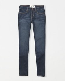 super skinny jeans, dark wash