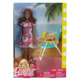 BARBIE Vacation Barbie with Beach Accessories