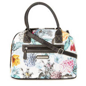 Stone Mountain Floral Dome Satchel