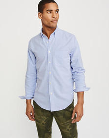 Oxford Shirt, Blue