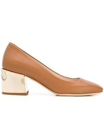 Lanvin square toe pumps