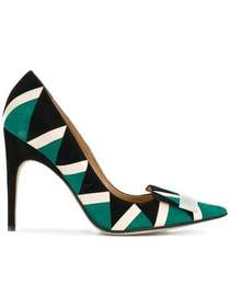 Sergio Rossi patterned pointed pumps
